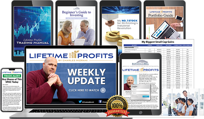 Everthing you receive with Lifetime Profits
