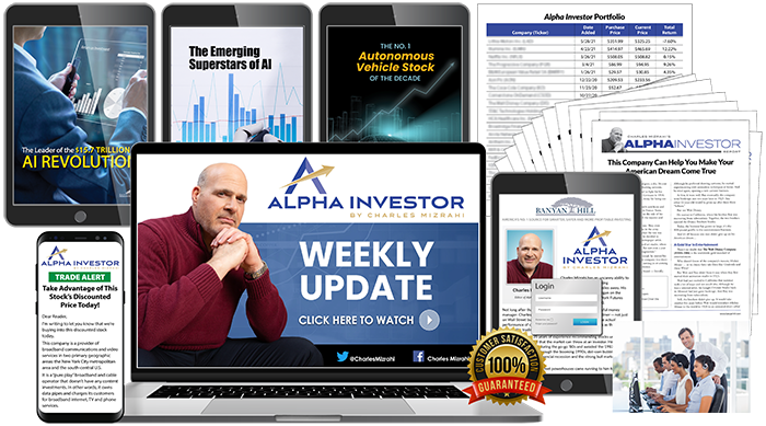 Everything you receive with Alpha Investor